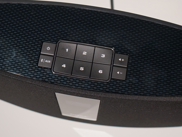 SoundTouchシリーズは上部に6つのプリセットボタンを搭載