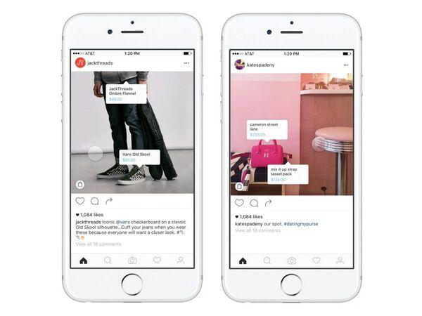 フェイスブック、インスタ内でのショッピング体験のテスト運用開始