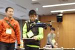 ドローンプログラミング教室+気鋭の研究者らによるロボットシンポ開催