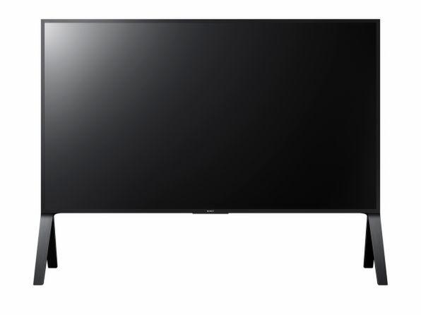 直下型バックライト搭載の最上位モデル「Z9D」。画面サイズは100/75/65V型。65V型の実売価格は75万円前後