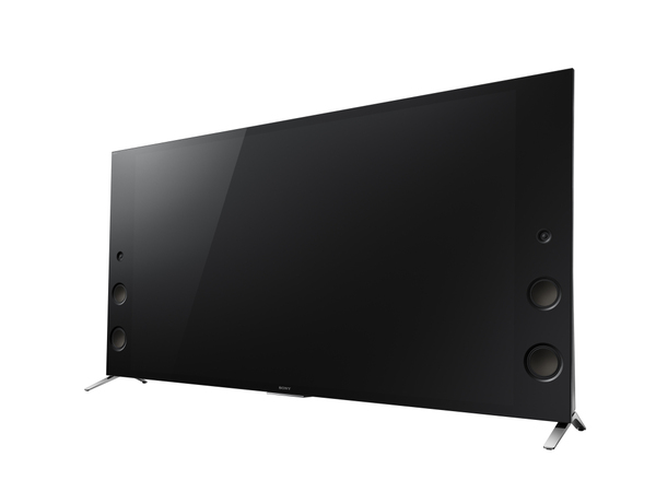 磁性流体スピーカー搭載の高音質モデル「X9350D」。画面サイズは65/55V型。55V型の実売価格は32万円前後