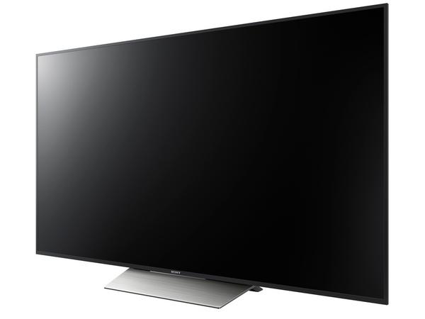 エッジ型バックライト採用のミドルクラス4Kテレビ「X8500D」。画面サイズは65/55V型。55V型の実売価格は22万円前後