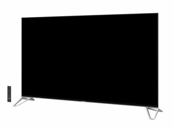 独自の4原色画素技術で8K相当の輝度解像度を持つ「XU30」。画面サイズは80V型のみ。実売価格は160万円前後