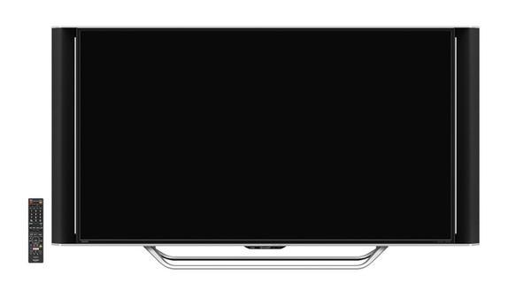 直下型バックライト採用の「XD45」。オンキヨーと共同開発した独立型スピーカーボックスを搭載。画面サイズは55V型のみで、実売価格は38万円前後