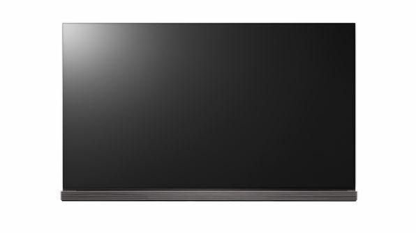 77V型という大画面の有機ELテレビ「OLED77G6P」。実売価格は324万円