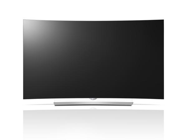 昨年登場した日本初の曲面有機ELテレビ「EG9600」シリーズ。画面サイズは65/55V型で、55V型の実売価格は35万円前後