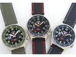 フル充電で6ヵ月稼働! 防衛省本部契約商品の次世代ソーラー腕時計
