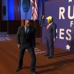 トランプっぽい大統領をぶっ飛ばして暗殺者から守るバカゲー『Mr.President!』:Steam