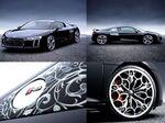 アウディとスクエア・エニックスがコラボ、世界で1台「The Audi R8 Star of Lucis」