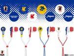 フォステクス、サッカー日本代表チームのオフィシャルライセンスイヤフォン