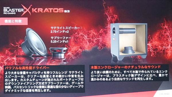 Kratos S3のユニット構成