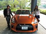 【動画公開】つばさとスピーディー末岡が日産「GT-R」の最新モデルでドライブ