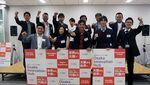 次代を狙う空中ディスプレー登場 大阪市ベンチャープログラム2期始まる