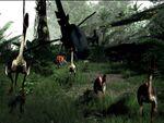 森の中をさまようVRシューティングゲーム「Island 359」