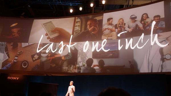 ソニーが感動を届けるラスト1インチのメッセージ