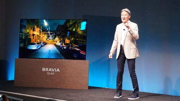 最も熱を入れて語られたのは、有機ELテレビのBRAVIA OLED「A1E」