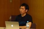 日帰り参加の多田さん、AWSを安全に楽しむコツを白山で語る