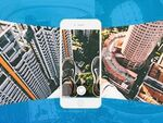 地図上で360度動画を共有! SNSアプリ「mizica byGMO」が360度動画に対応