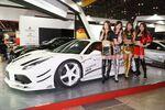 美女だけじゃない! 東京オートサロンは主役のカスタムカーにレースクイーン大賞も!