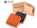 「革の宝石」コードバンを使用したMilagroの二つ折り財布