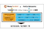 マネーフォワード、フェリカネットワークスと連携し地域電子マネーなどの対応も目指す