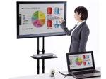 スクリーンを電子黒板化するICT機器が8万円台