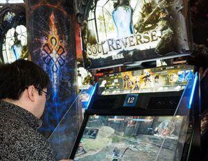 10対10の戦闘が激熱な迫力のファンタジーACゲーム「ソウルリバース」を体験【JAEPO2017】