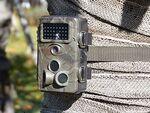 単3電池で6ヵ月間駆動! 120度広範囲人感センサー搭載の防犯カメラ