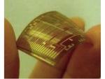 低コストで温度センサー機能つきプラスティック電子タグを開発