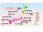 ウェザーニューズ、3月22日に東京・福岡など5都市から桜開花の予想