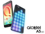 スマホがド派手に光る! Alcatel、背面にLEDが入った「A5 LED」発表