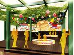 「森永ホットケーキ風呂」に入れる! 1日3回メープルシロップを投入