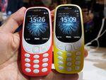 伝説のケータイ「Nokia 3310」人気沸騰! MWC 2017のノキアブースは大盛況