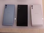 淡いブルーが物欲を刺激する「Xperia XZs」や低価格のXA1シリーズをフォトレビュー