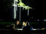 驚くほどの明るさで広範囲を照らす! 「ロープ型」LEDライト