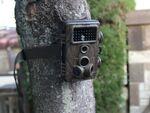 乾電池で動く、屋外でも夜間でも配線なしで手軽に自動録画できる防犯カメラ