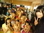 女子ペリア! AKB48チームAの田北香世子ちゃんがみんなと自撮り!【Xperia×アイドル】