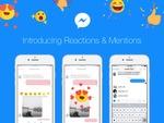 Facebook、Messengerでユーザーに通知飛ばせるメンションなどの新機能追加