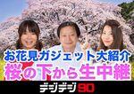 今夜20時~桜の下でニコ生やります! お花見ガジェット大紹介【デジデジ90】