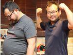 1ヵ月で体重13.3キロ減、γGTP-116を達成!「マイトレーナーズ」を体験してみた!