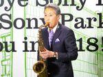 銀座ソニービルが最後の1日、平井社長はサックス握って…