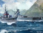 World of Warshipsに「はいふり」の晴風とグラーフ・シュペーが登場!