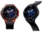 カシオ、新時計型デバイスのGPS使用時バッテリー時間を公開