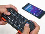 スマホとセットで持ち歩けるキーボード「IC-RF03」:Xperia周辺機器