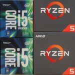 10個のCPUが大激突!Core i5とRyzen 5、Overwatchで有利なのはどっち?