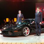 最強のフェラーリ「ラ・フェラーリ アペルタ」が土俵で公開