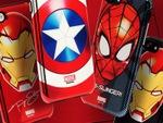 マーベルのヒーローが輝く! メタリックなiPhone 7ケース