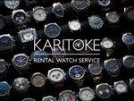 高級ブランド腕時計を気軽にレンタルできる「KARITOKE」事前予約受付開始