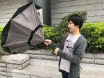 「逆さに開く傘」で梅雨を快適に過ごす