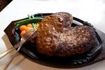 肉と愛!どでかハンバーグ1kg恋人で食べられたらお米券